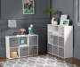 9-Cube White Storage Cubby