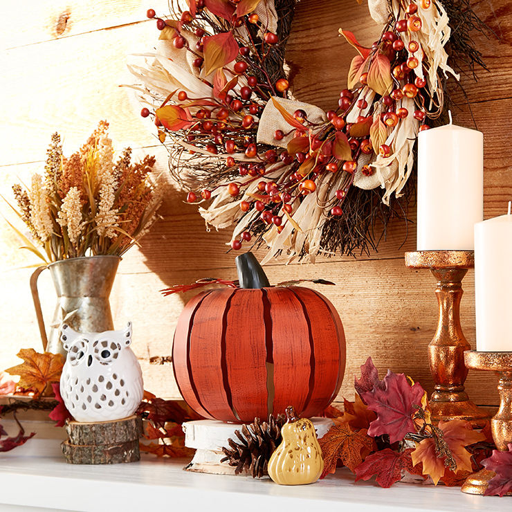 Harvest and fall decor catalog