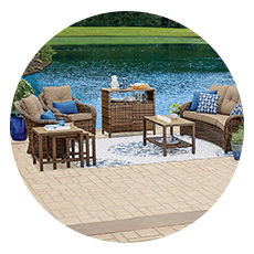Palermo Patio Furniture Collection