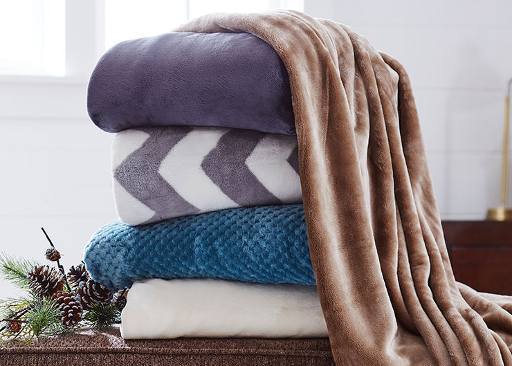 Save 25 Percent on Select Blankets