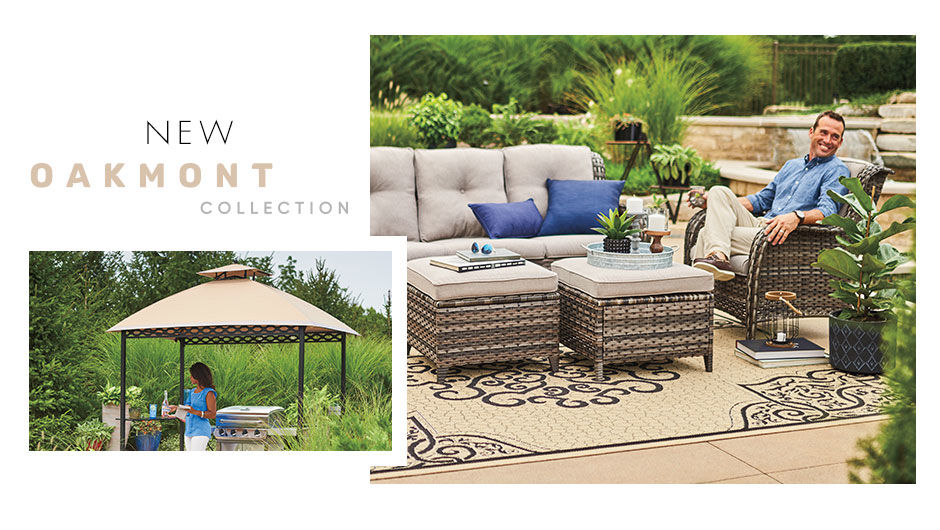 Shop the New Oakmont Patio Collection