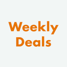 Weekly deals, price cuts and sales