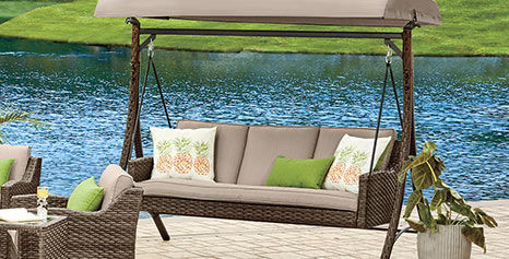 Augusta 3-Person Patio Swing