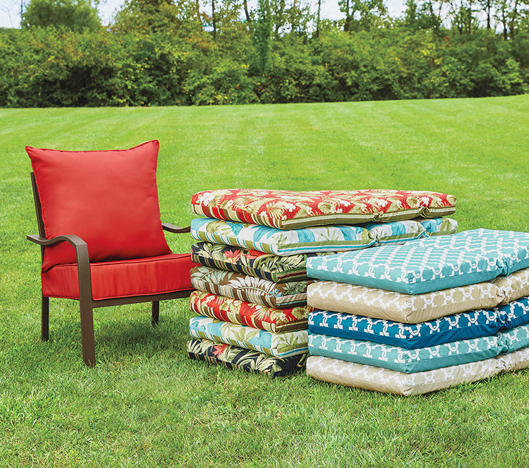 Patio Cushions and Pillows