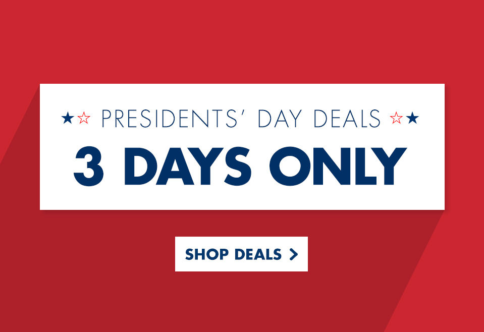 Presidents' Day Deals