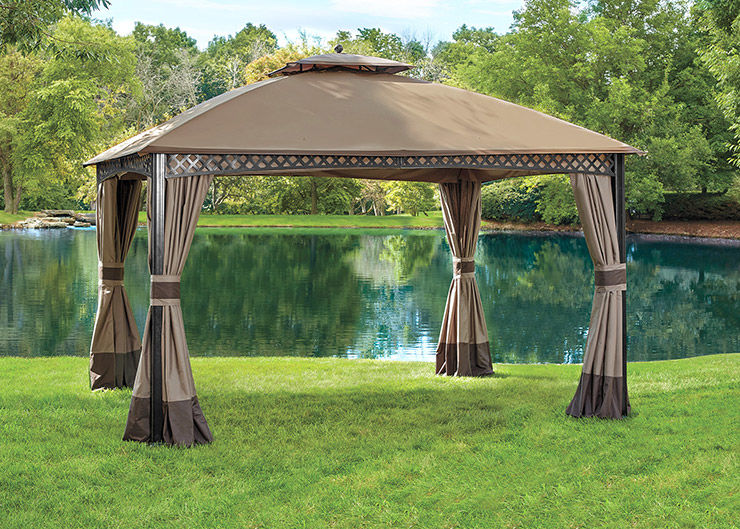 Save Up to 50 Dollars on Select Gazebos