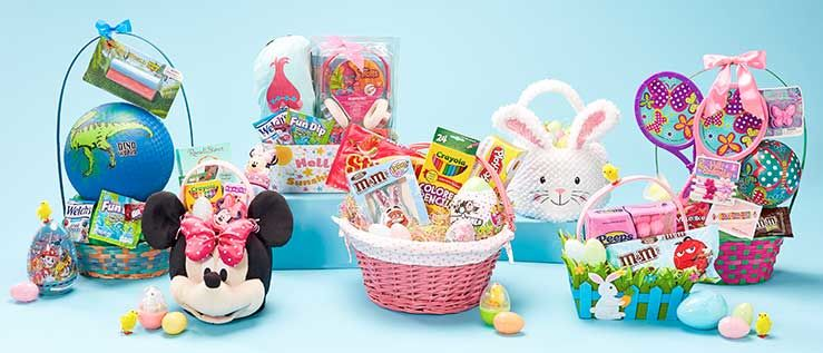 Easter big lots build your own easter baskets negle Gallery