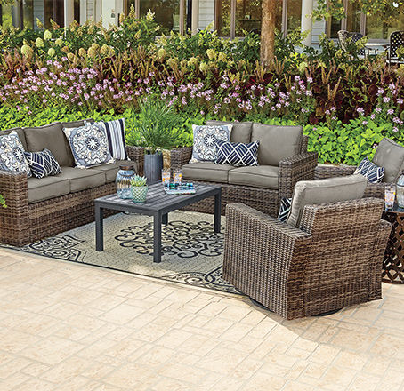 Xtra Large Size Patio Sets. Seats More Than 8.