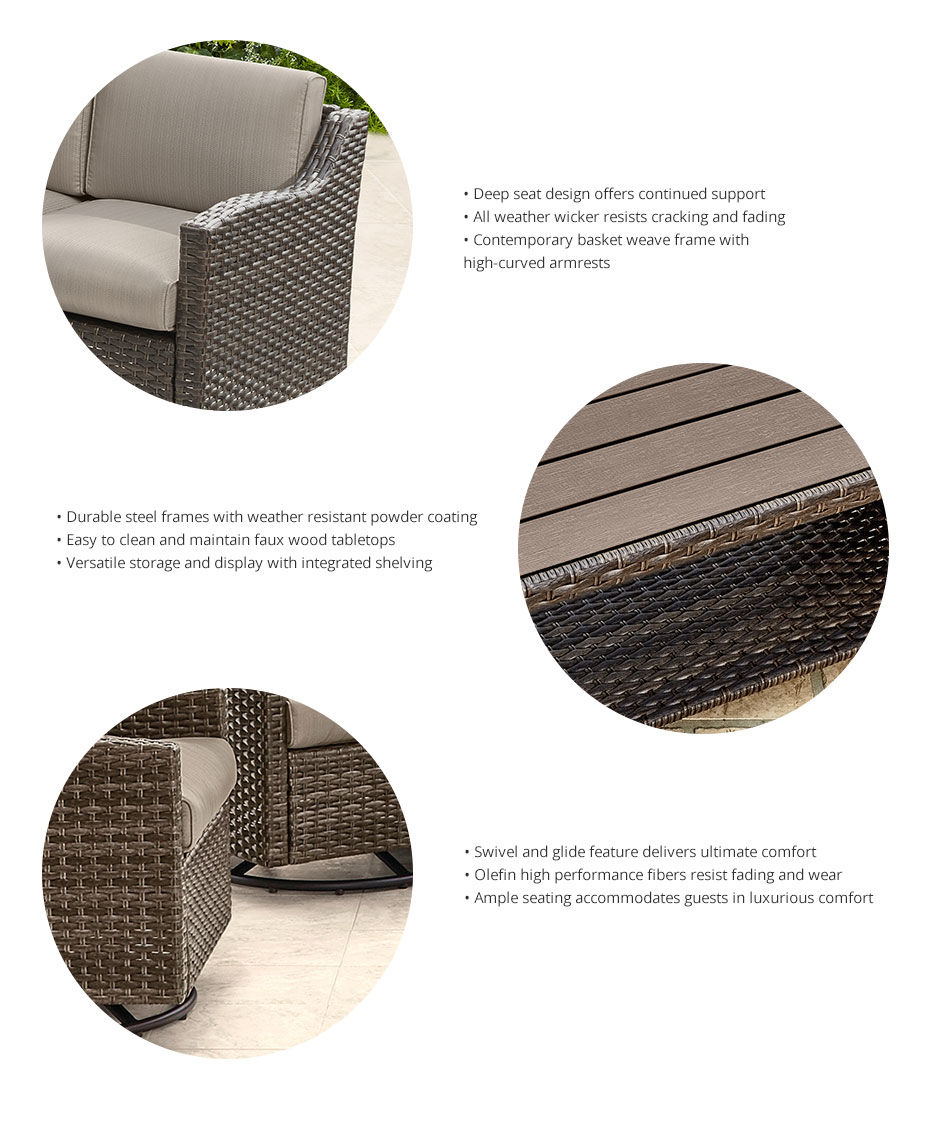 Learn about the Augusta Patio Collection