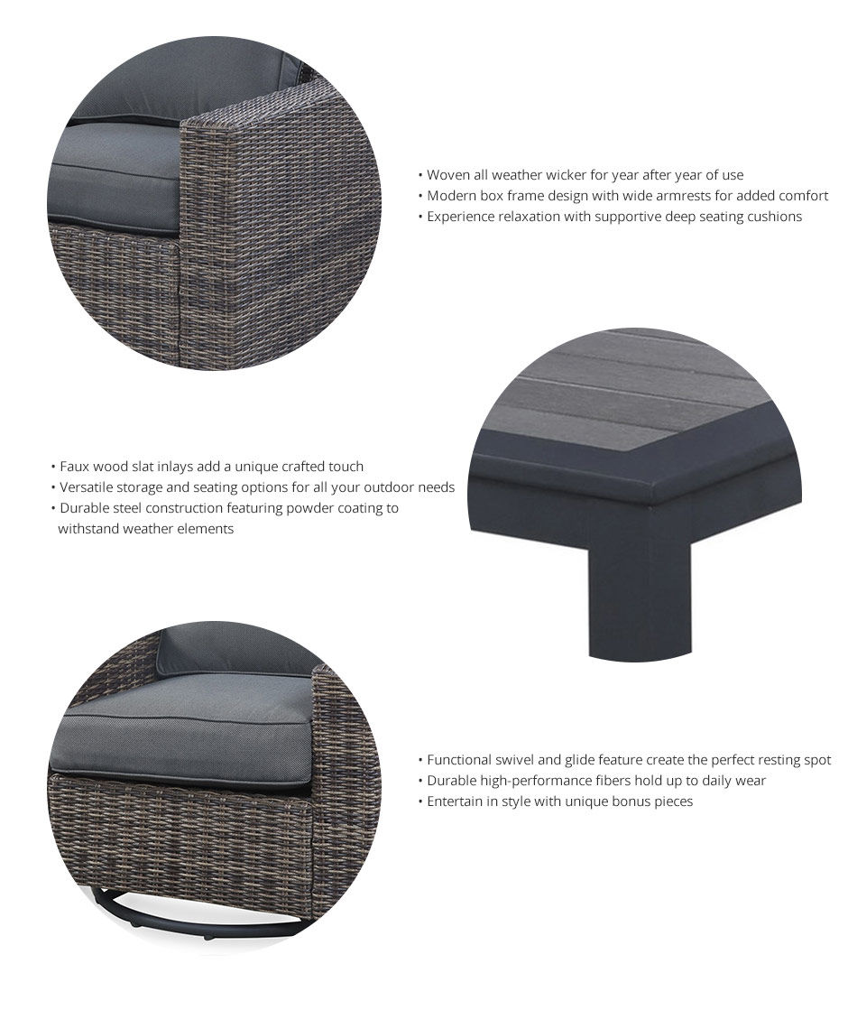 Shadow Creek Patio Collection