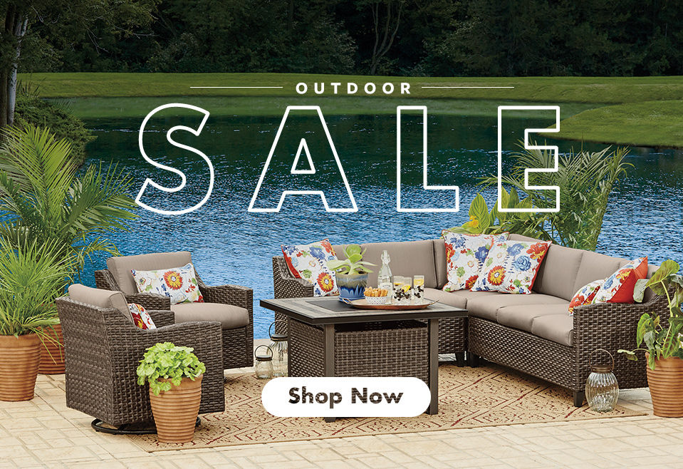 Outdoor Sale. Shop Now.