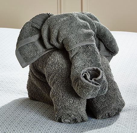 DIY Elephant Towel Animal. Make It.