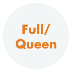 Full to Queen Size Bedding