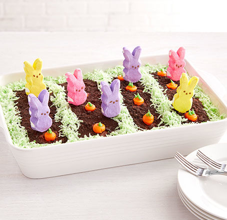 DIY Easter Peeps Garden Cake. Make It.