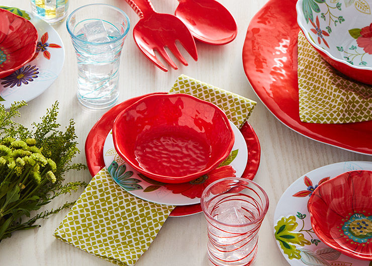 Outdoor Summer Dinnerware