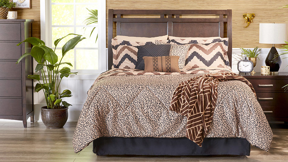 Wild Chevron Bedding Set