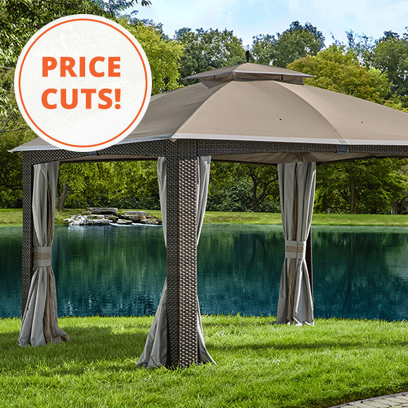 Price Cut. Shop Gazebos.