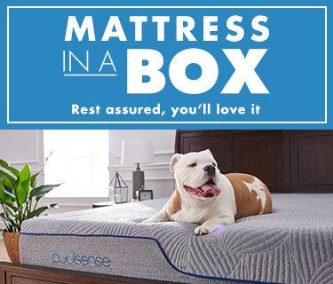 Mattress in a box. Rest assured, you'll love it.