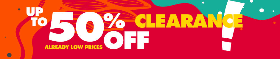Shop Summer Clearance. Up to 50 Percent Off.