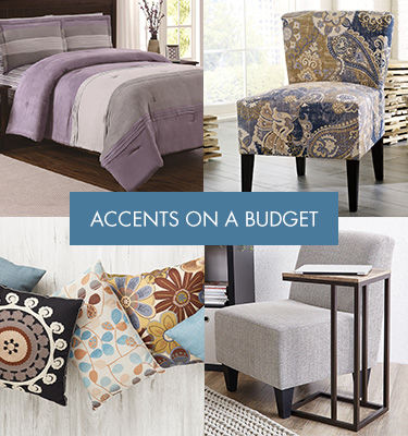 Accents on a Budget. Transform Your Home Décor.