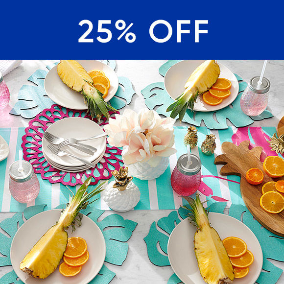 25 Percent Off Outdoor Dining