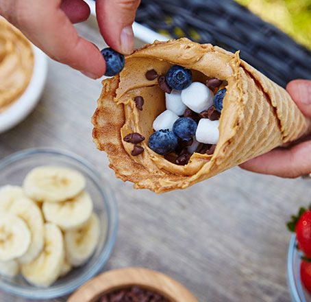 Campfire Cones Summer Recipe