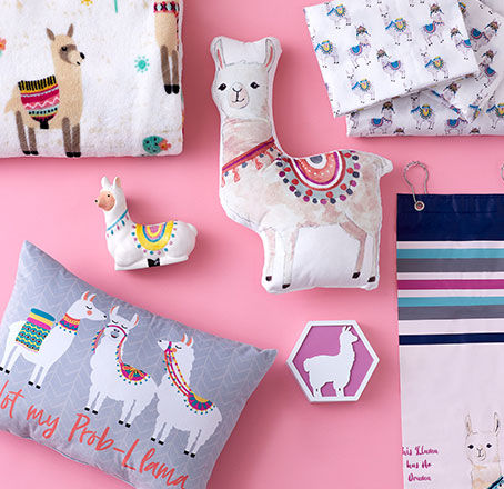 Llama Decor Collection. Shop Now.