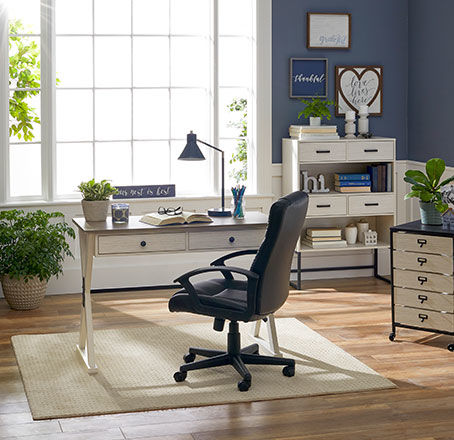 Farmhouse Home Office Collection. Shop Now