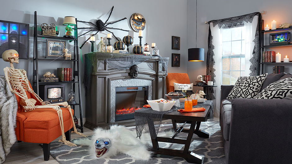Haunted Hallow Collection and Decor