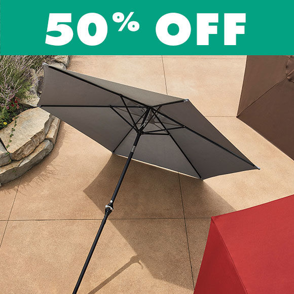 50 Percent Off Patio Umbrellas