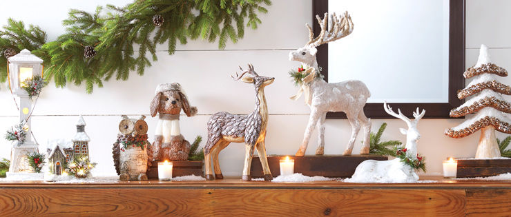 Christmas Woodland Collection indoor decor