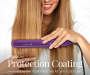 1 inch Ceramic Digital Hair Straightener silo front with model