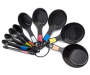 10 Piece Measuring Cup Spoon Set Fan Display Silo Image