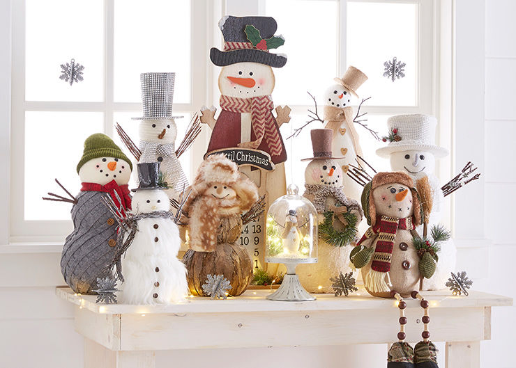 Holiday Snowman Decor