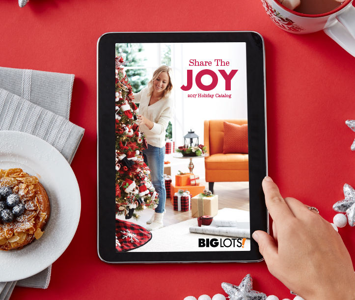 Christmas Décor & Gifts Catalog. Share the Joy.