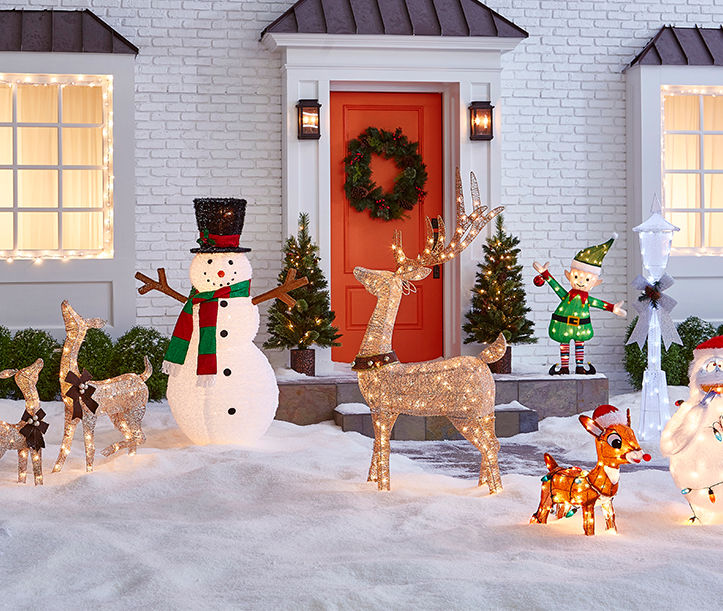 Stunning outdoor Christmas decorations