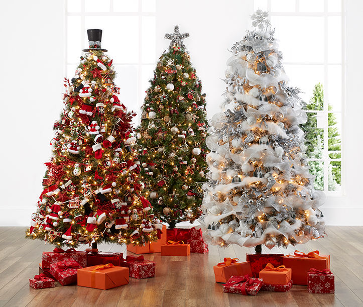 Christmas Tree decorations, ornaments and ideas