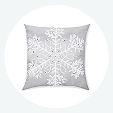 Shimmer collection decorative throw pillows