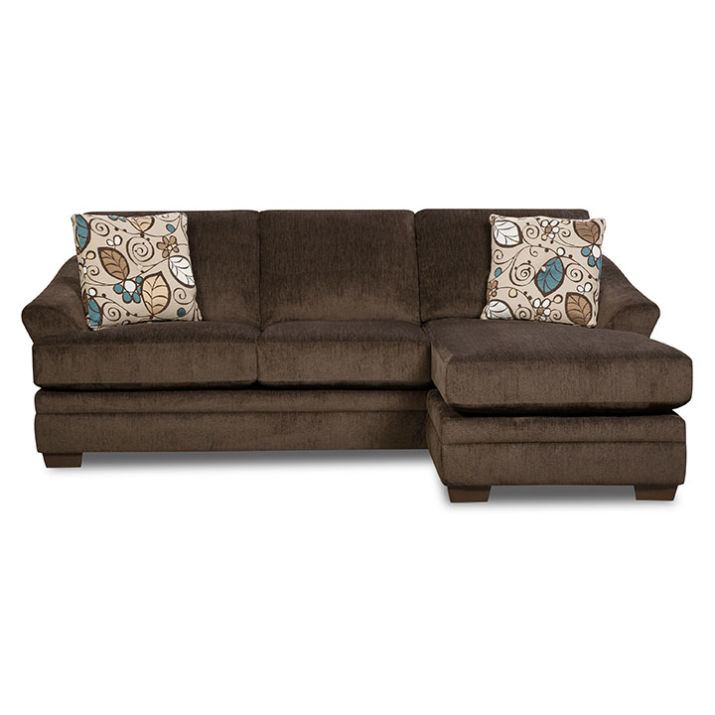 Furniture big lots for Brown couch with chaise