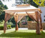 11' x 11' Pop Up Canopy with Netting Open in Environment