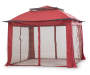11 FT X 11 FT RED POP UP SUNSHELTER