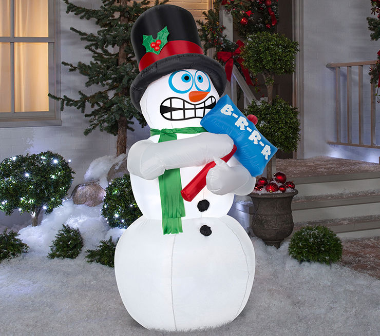 Outdoor Inflatable Holiday Decorations