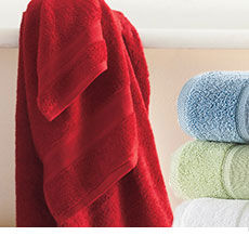 Buy One, Get One 50 Percent Off Bath Towels