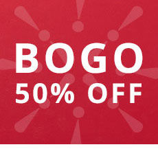 Buy One Get One 50 percent off deals