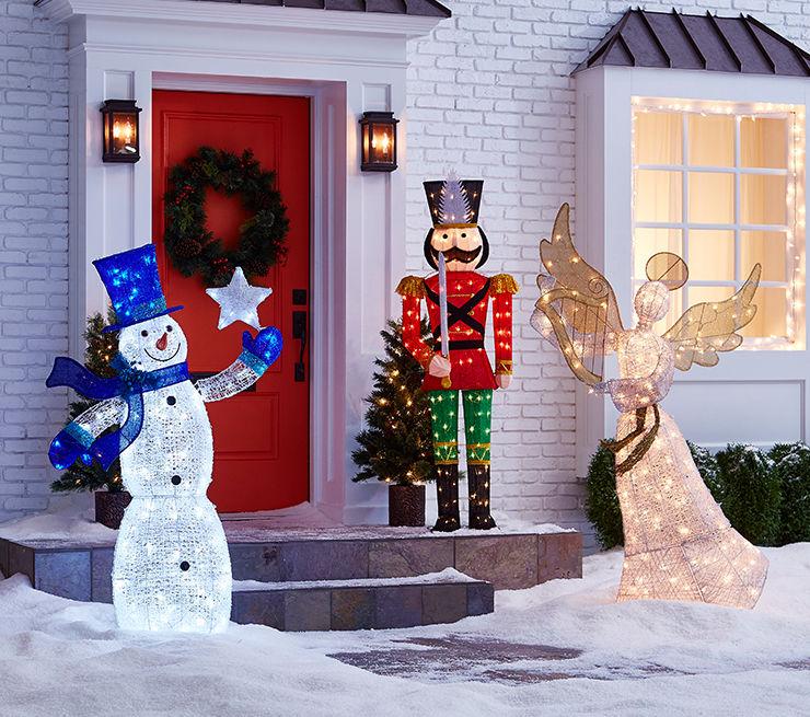 sale on outdoor decor - Big Lots Christmas Trees Sale