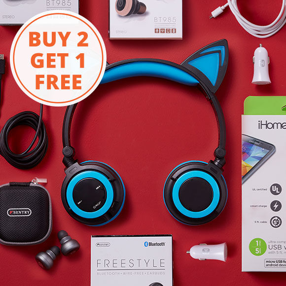 Buy 2, Get 1 Free Select Electronics