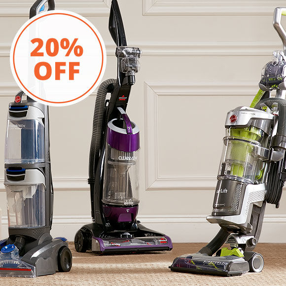 3 Days Only, 20 Percent Off Floor Care