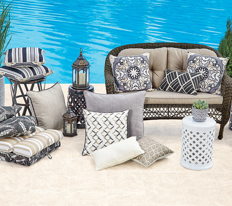 Patio Cushions & Pillows