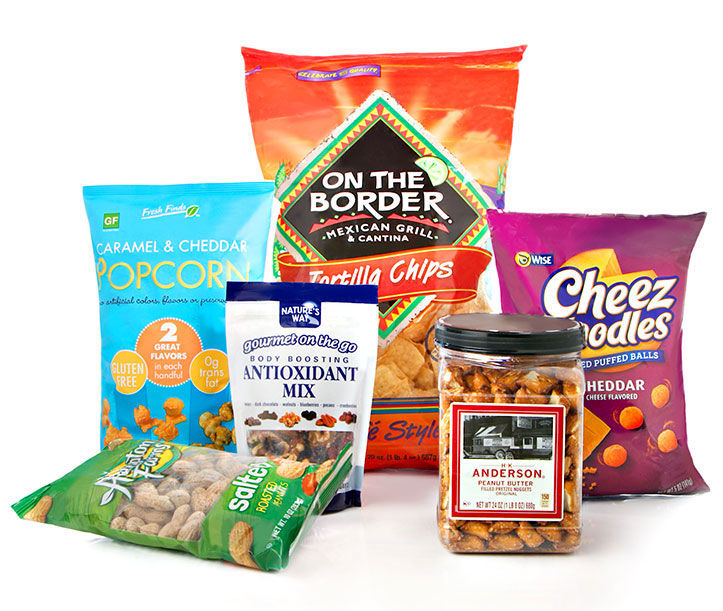 Popcorn, chips and more for game day snacks