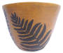 14 Inch Fern Fiberglass Planter Pot
